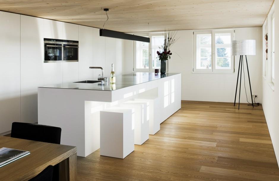 penthouse ludovika panorama mit berg und see. Black Bedroom Furniture Sets. Home Design Ideas